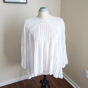 Black Label By Chicco's Ivory Blouse 2X